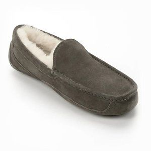 UGG MEN'S ASCOT SUEDE SLIPPERS - Size 10